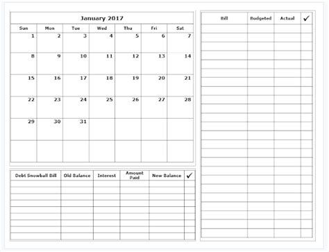 budget calendar grace christian homeschool free 2017 budget calendars