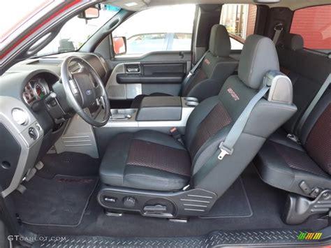 blackred sport interior  ford  fx sport