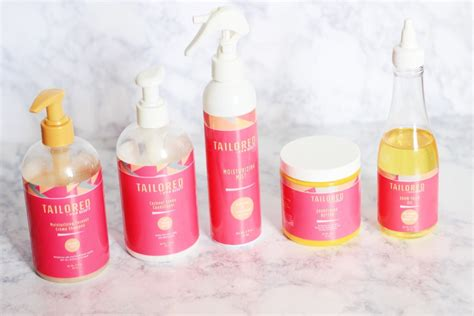 Tailored Beauty Hair Products For Natural Product Review