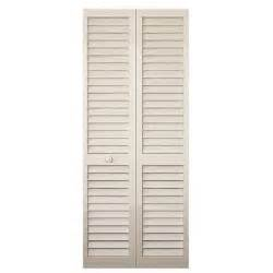 interior louvered doors home depot bay 30 in x 80 in 30 in plantation louvered solid painted white wood interior