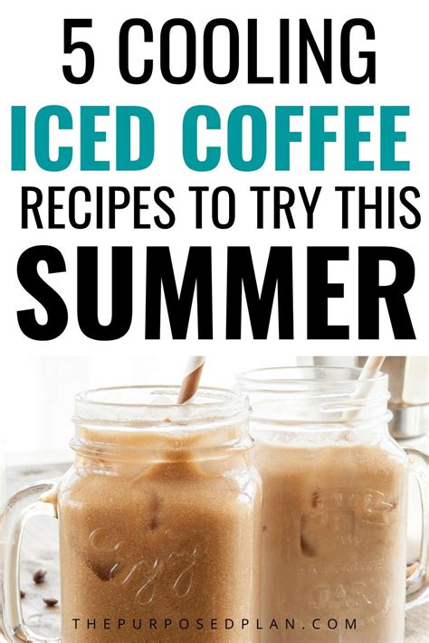 I love the fact that it can brew multiple cups at a time as well! 5 Different Ways to Make Iced Coffee - ICED COFFEE RECIPES in 2020 | Ice coffee recipe, Iced ...