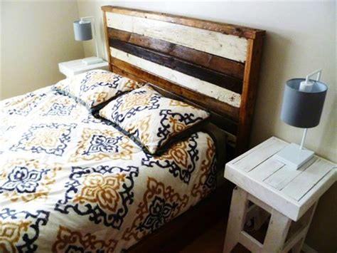 queen size pallet headboard pallet furniture plans