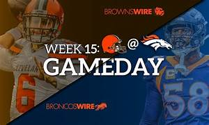 3 Key Matchups In Browns Battle With Broncos