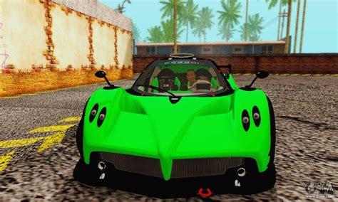 Pagani Zonda Type R Green For Gta San Andreas