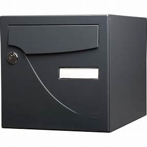 Boite Au Lettre Originale : bo te aux lettres normalis e la poste 1 porte renz ~ Dailycaller-alerts.com Idées de Décoration