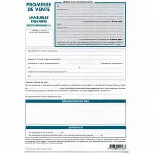 Documents Pour Compromis De Vente : modele compromis de vente terrain a imprimer ~ Gottalentnigeria.com Avis de Voitures