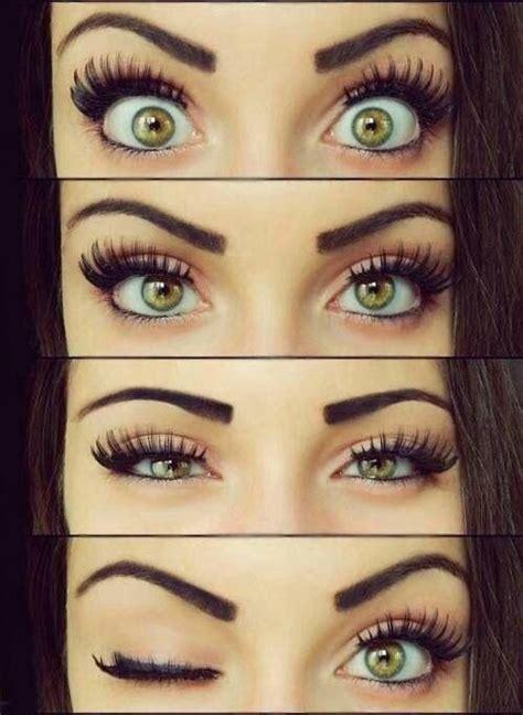 apply  false eyelash pretty designs