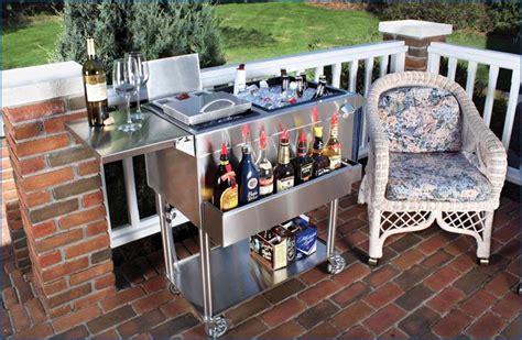 glastender home portable home cocktail station cart