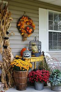10, Fall, Porch, Decorating, Ideas, -, Pretty, My, Party