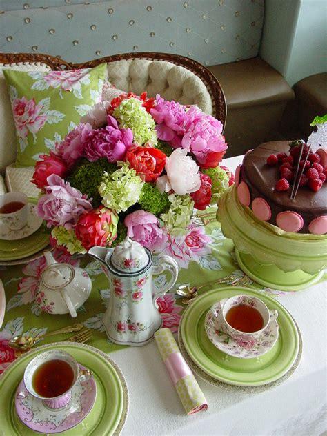 tea bridal shower decorations crinoline tweed vintage tea bridal shower
