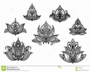 Abstract Persian And Indian Flower - Download From Over 36 ...
