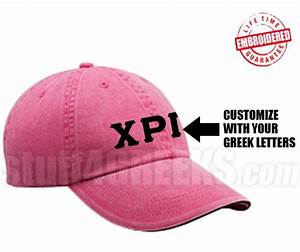 custom denim greek letter cap ab available for any With custom greek letter hats