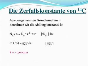 Zerfallskonstante Berechnen : ppt johannes frank philipp ortmayr powerpoint presentation id 3541110 ~ Themetempest.com Abrechnung