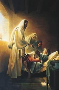 Jesus Blessing Jairus U2019s Daughter  Christ Raising The Daughter Of Jairus