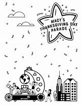 Parade Coloring Thanksgiving Macy Scouts Float Celebrate Better Give Try Diy Scout Stem Science sketch template