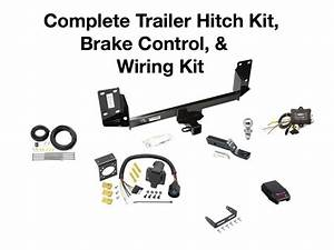 Complete Trailer Hitch Kit  Wiring Kit   U0026 Brake Control Fits A Bmw X5 2007