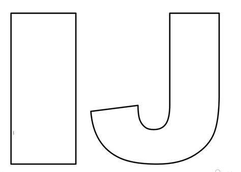 17 melhores ideias sobre molde de letras grandes no