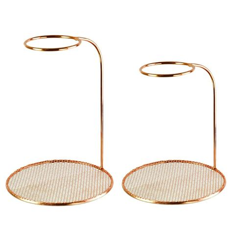 Rinse under running water or clean in the dishwasher after emptying grounds. Double Layer Stainless Steel Coffee Filter Dripper Pot Rack Tea Cup Holder Stand Support ...