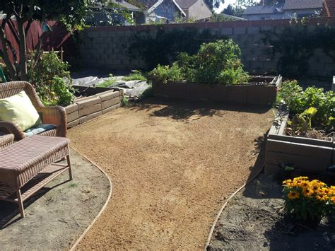 how to install dg decomposed granite quot dg quot pathway installation yelp