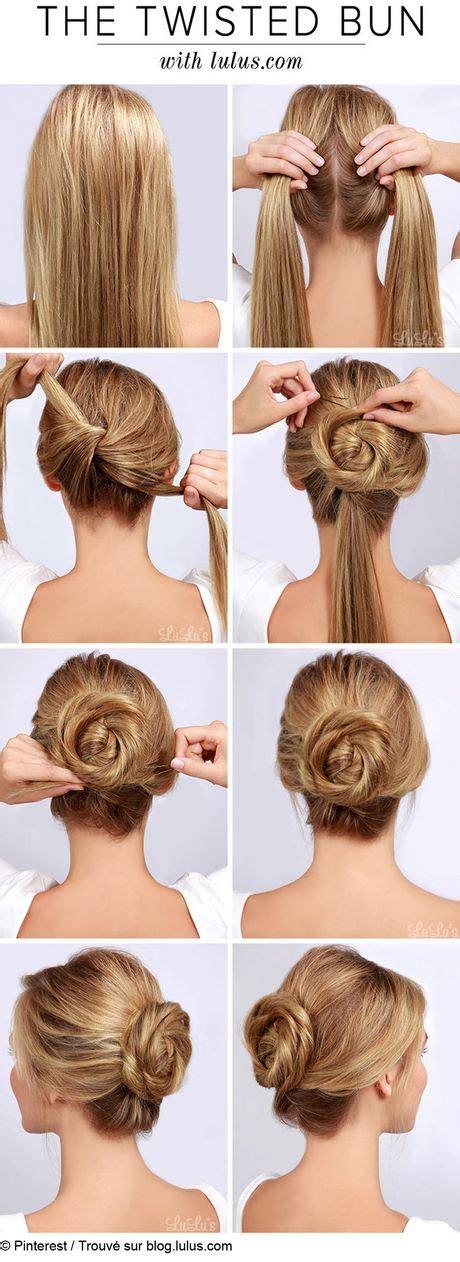 coiffure simple pour mariage chignon coiffure chignon mariage simple