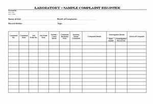 Member protection policy customer complaints policy template customer complaints policy template laboratory sample complaint register maxwellsz