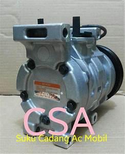Jual Compressor Compresor Kompresor Ac Mobil Toyota Avanza 1 3 Cc   Lengkap Merk   Denso Asli