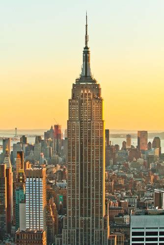 Photo New York Empire State Building A New York In New
