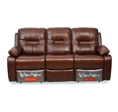 3 seater sofa with 2 recliner actions wilson sofa set brown sofa ideas