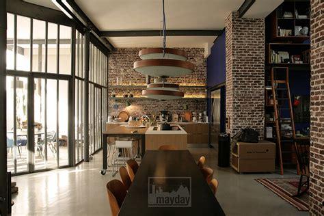 cour de cuisine lyon loft avec patio clav0024 agence mayday repérage de