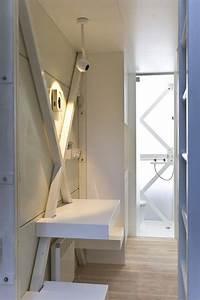 Salle De Bain Etroite : salle de bain troite ~ Melissatoandfro.com Idées de Décoration
