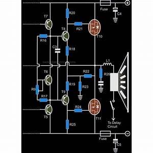 Make A High Power 250 Watt Mosfet Amplifier Dj Circuit