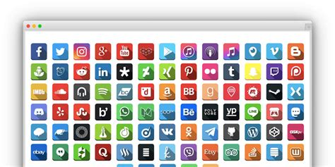 social media social media follow buttons bar pro