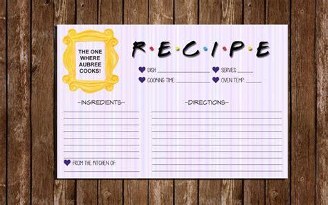 recipe cards idea designs  examples psd ai