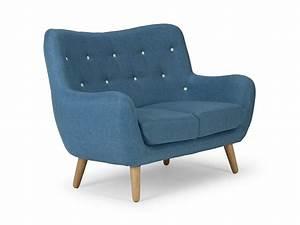 Sofas Online Bestellen : retro sofa vintage couch 2 sitzer im 60er look ~ Pilothousefishingboats.com Haus und Dekorationen