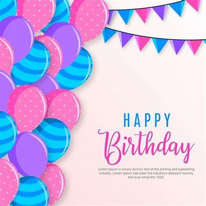 Birthday Happy Vecteezy Graphics Clipart Vectors