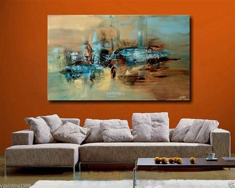 Canvas Modern Abstract Hand-painted (end //