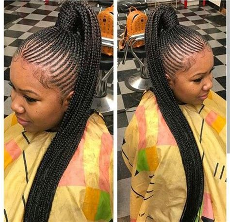Cornrow Ponytail Hairstyles For by Cornrow Ponytail Black Hairstyles Cornrow Ponytail
