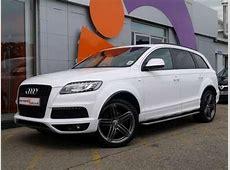 2011 Audi Q7 SLine 30TDI 245 Clean Diesel White For Sale