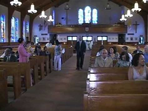 minh tam kim anh  wedding anniversary stjames church