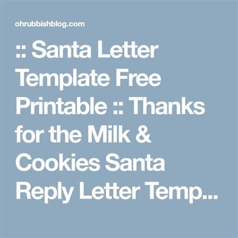 santa letter template ideas  pinterest letter