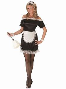 Adult French Maid Costume - 9902 - Fancy Dress Ball