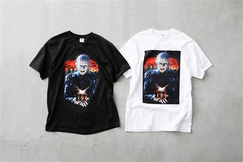 Supreme Clothing Line by Skating Company Supreme Previews A Hellraiser