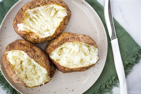 fryer baked air potatoes inside potato oven cuisinart toaster recipe seasoned fluffy crust crispy nice