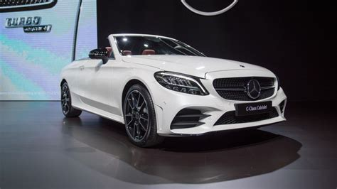 2019 Mercedesbenz C300 Cabriolet Gets Power, Tech