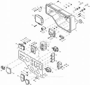 Generac 0058020  Xg10000e  Parts Diagram For Control Panel