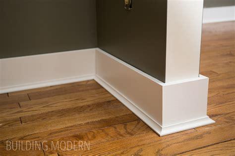 installing floor moulding caulking baseboards laminate flooring