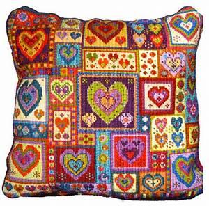 Animal Fayre Needlepoint Cushions Kit