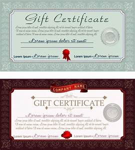 free gift certificate template illustrator driverlayer With gift certificate template ai