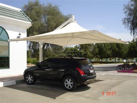 Car Shade by Car Parking Shades Pvc