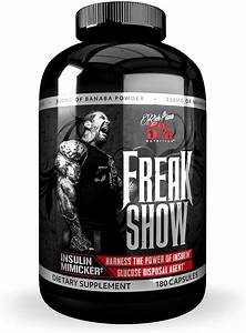 5  Nutrition Freak Show Insulin Supplement For Muscle Growth  Keto